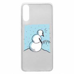 Чохол для Samsung A70 Snowman. It's Cold!