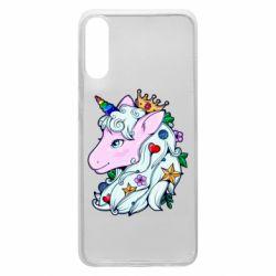 Чохол для Samsung A70 Unicorn Princess