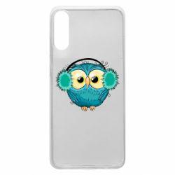Чехол для Samsung A70 Winter owl