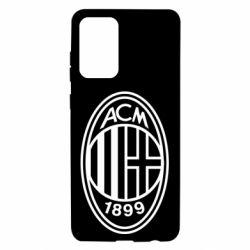 Чохол для Samsung A72 5G AC Milan logo