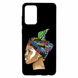 Чохол для Samsung A72 5G African girl in a color scarf