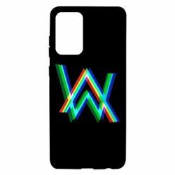 Чохол для Samsung A72 5G Alan Walker multicolored logo