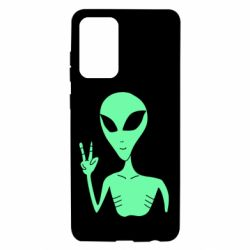 Чохол для Samsung A72 5G Alien and two fingers