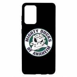 Чехол для Samsung A72 5G Anaheim Mighty Ducks Logo