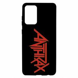 Чохол для Samsung A72 5G Anthrax red logo
