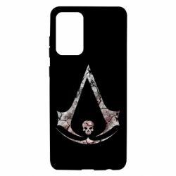 Чехол для Samsung A72 5G Assassins Creed and skull