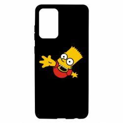 Чехол для Samsung A72 5G Барт Симпсон