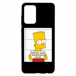 Чехол для Samsung A72 5G Барт в тюряге