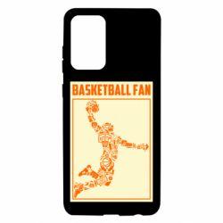 Чохол для Samsung A72 5G Basketball fan