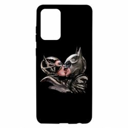 Чехол для Samsung A72 5G Batman and Catwoman Kiss