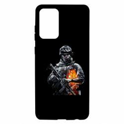 Чехол для Samsung A72 5G Battlefield Warrior