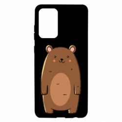 Чехол для Samsung A72 5G Bear with a smile