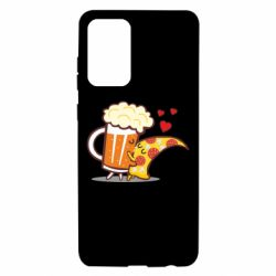 Чохол для Samsung A72 5G Beer and Pizza were kissed