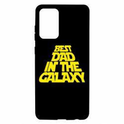 Чехол для Samsung A72 5G Best dad in the galaxy