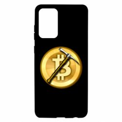 Чохол для Samsung A72 5G Bitcoin Hammer