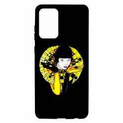 Чехол для Samsung A72 5G Black and yellow clown