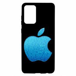 Чехол для Samsung A72 5G Blue Apple
