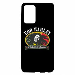 Чехол для Samsung A72 5G Bob Marley A Tribute To Freedom