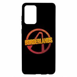 Чехол для Samsung A72 5G Borderlands logotype