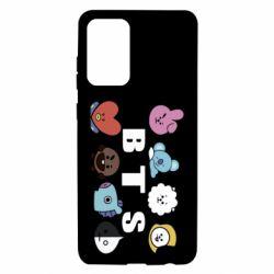 Чохол для Samsung A72 5G Bts emoji