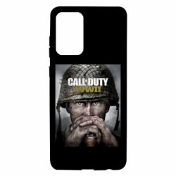 Чохол для Samsung A72 5G Call of Duty WW2 poster