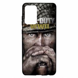 Чехол для Samsung A72 5G Call of Duty WWII