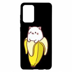 Чехол для Samsung A72 5G Cat and Banana