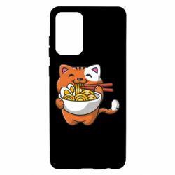 Чохол для Samsung A72 5G Cat and Ramen