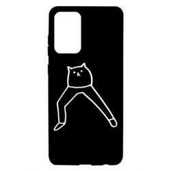 Чохол для Samsung A72 5G Cat in pants