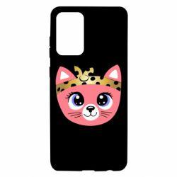 Чехол для Samsung A72 5G Cat pink