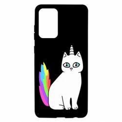 Чехол для Samsung A72 5G Cat Unicorn