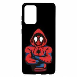 Чохол для Samsung A72 5G Людина павук в толстовці