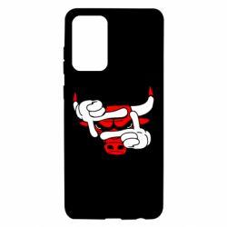 Чехол для Samsung A72 5G Chicago Bulls бык
