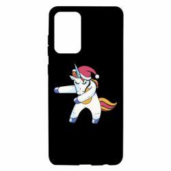Чохол для Samsung A72 5G Christmas Unicorn