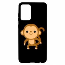 Чохол для Samsung A72 5G Colored monkey