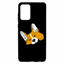 Чохол для Samsung A72 5G Corgi is dozing