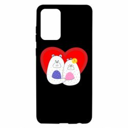 Чохол для Samsung A72 5G Couple Bears