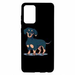 Чохол для Samsung A72 5G Cute dachshund