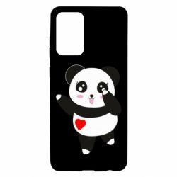 Чохол для Samsung A72 5G Cute little panda