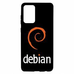Чехол для Samsung A72 5G Debian