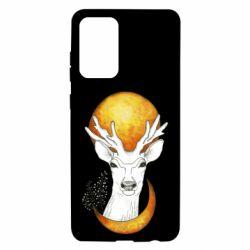 Чохол для Samsung A72 5G Deer and moon