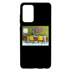 Чохол для Samsung A72 5G Dining table with flowers