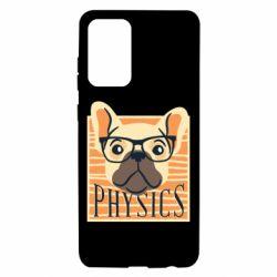 Чехол для Samsung A72 5G Dog Physicist