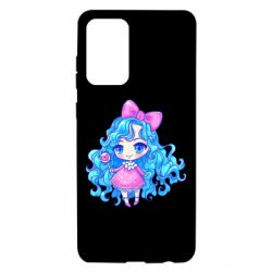 Чохол для Samsung A72 5G Doll with blue hair