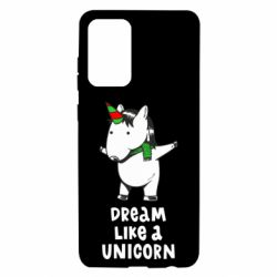 Чехол для Samsung A72 5G Dream like a unicorn