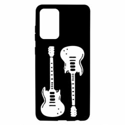 Чохол для Samsung A72 5G Дві гітари