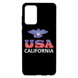 Чехол для Samsung A72 5G Eagle USA