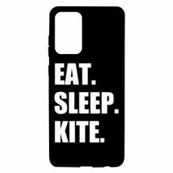 Чохол для Samsung A72 5G Eat, sleep, kite