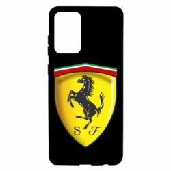 Чехол для Samsung A72 5G Ferrari 3D Logo