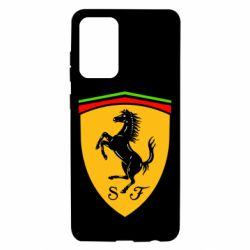 Чехол для Samsung A72 5G Ferrari